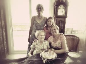 El dia que la Lola va fer els seus darrers 92 anys.